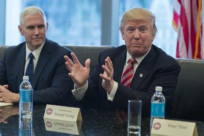 Трамп после встречи с разведслужбами исключил влияние России на итоги выборов