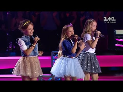 Прекрасное трио самых мощных детских голосов Украины!