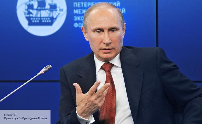 Путин встретился с губернатором Пензенской области Белозерцевым