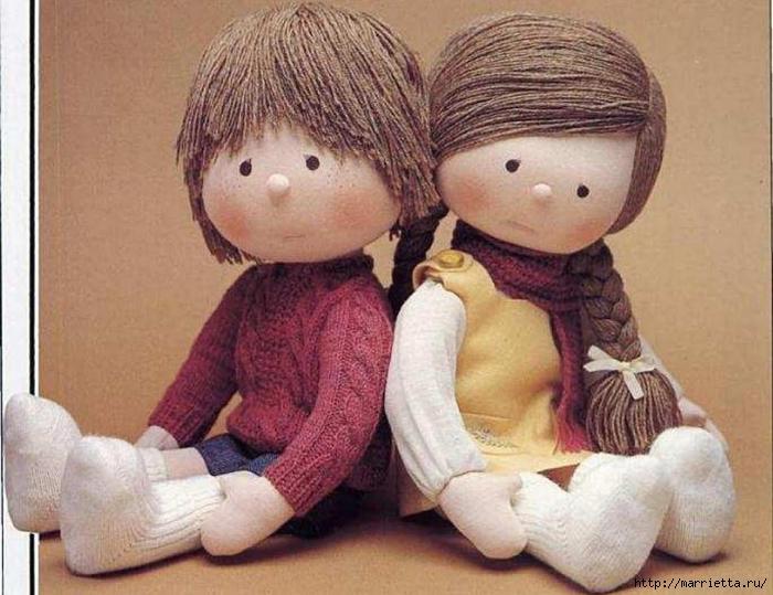 Шитьё кукол дома