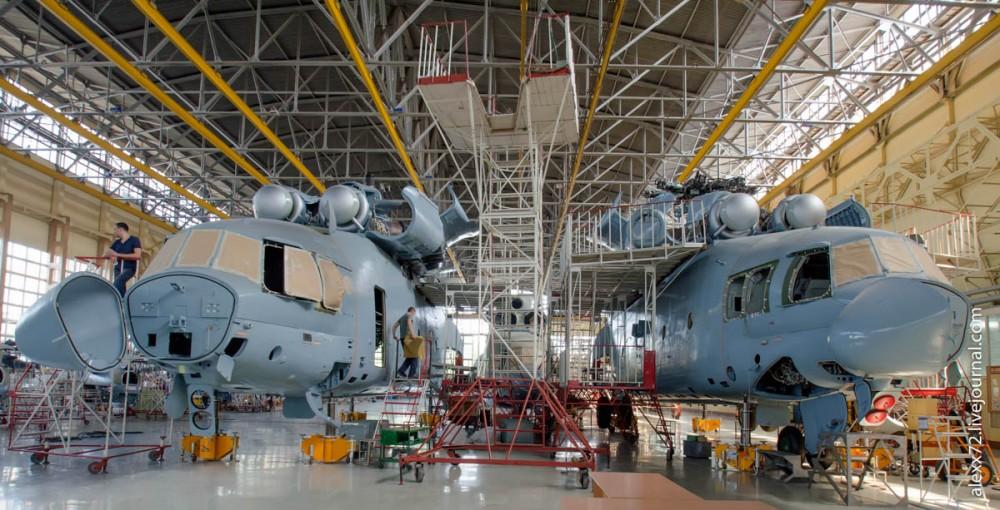 Как появляется на свет МИ-26Т : самый большой вертолет в мире!