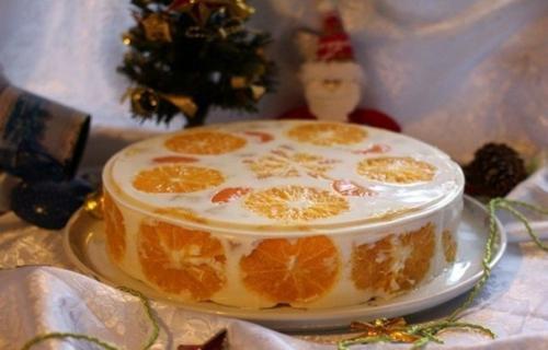 Желейный торт «фруктовый».