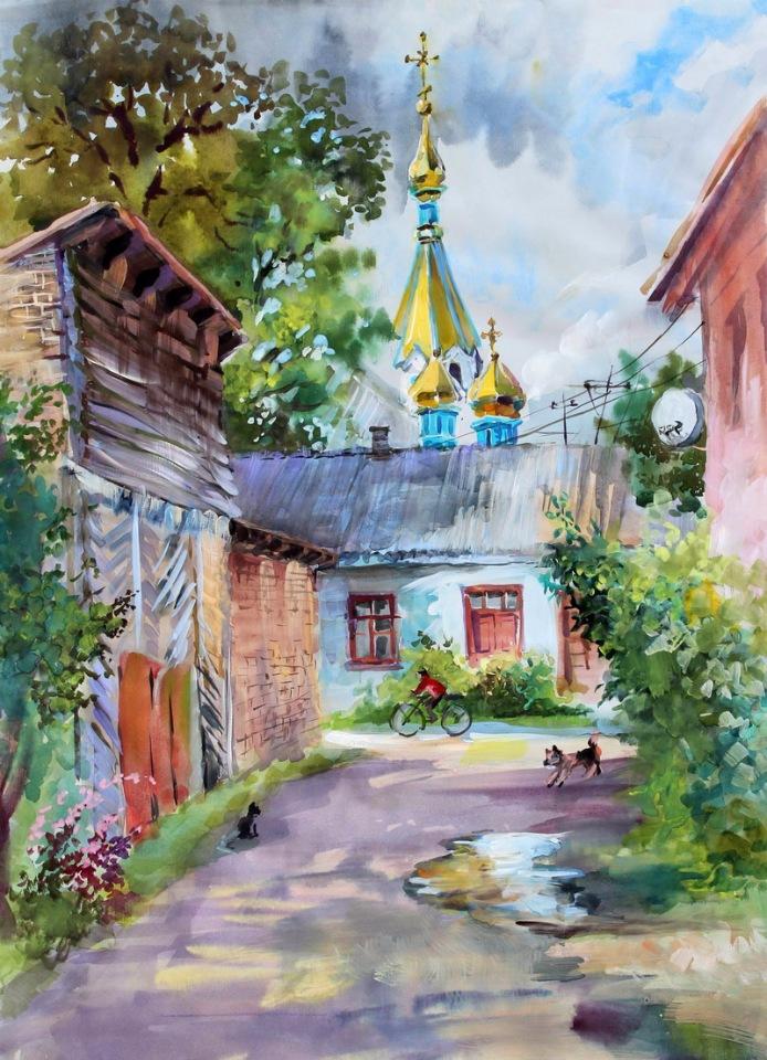 Душевные пейзажи Натальи Аникиной-Закревской