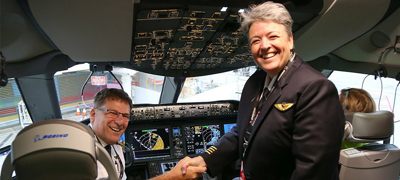 Первый беспосадочный перелет из Австрии в Великобританию