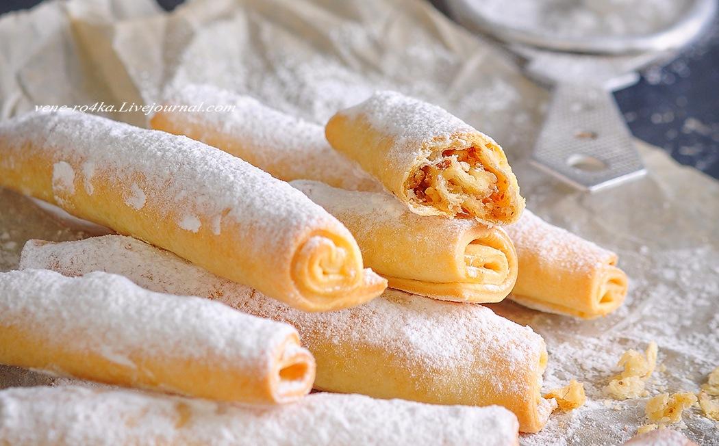 Татарская кухня: печенье «Бармак»