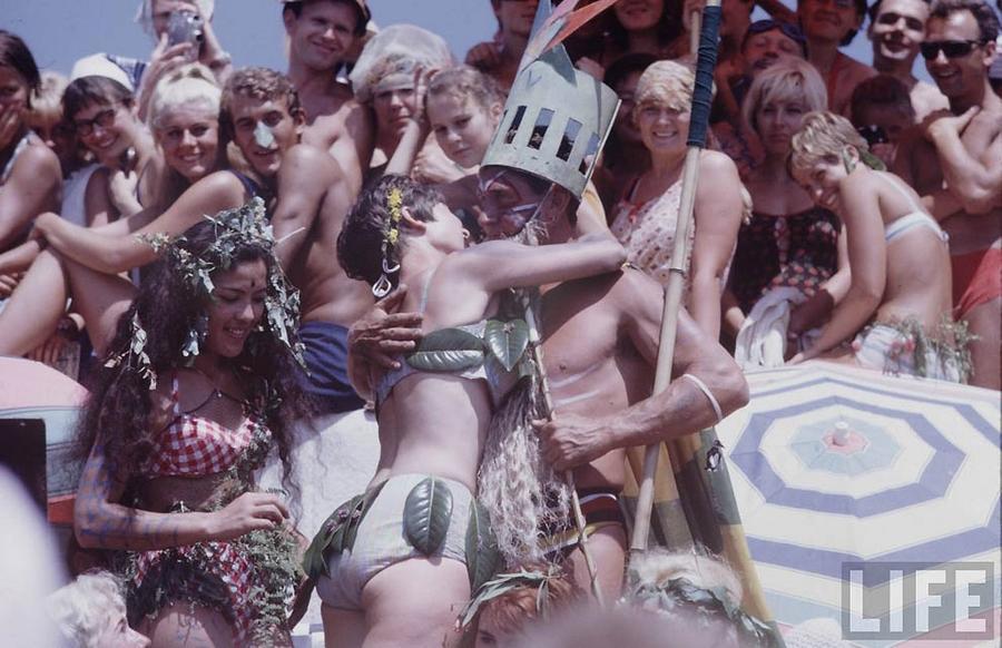 Молодёжь 1960-х: очень живые, не постановочные снимки журналиста Life