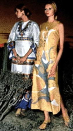 Мода на заре семидесятых годов в СССР