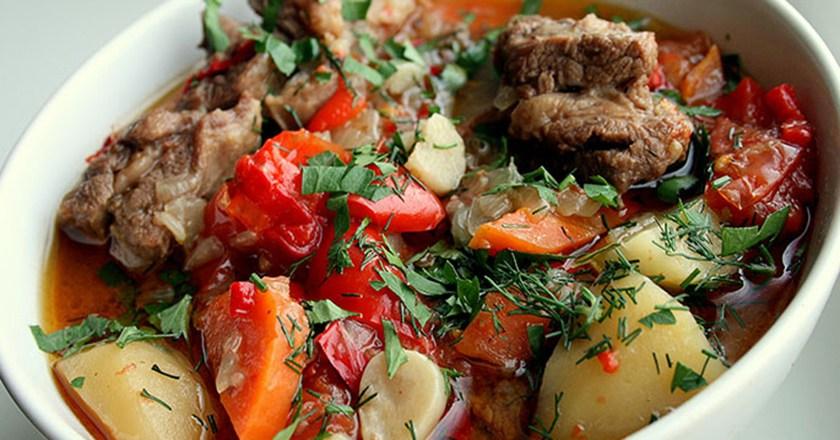Ароматная армянская Хашлама. Просто и очень вкусно