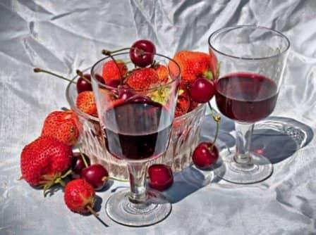 Вино из разных ягод в домашних условиях