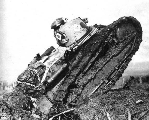 Американская танковая бригада в Аргоннском лесу