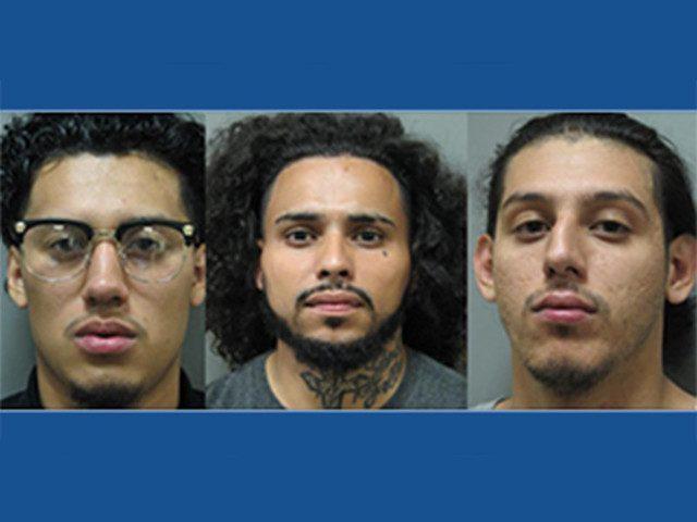В США задержаны трое подозре…
