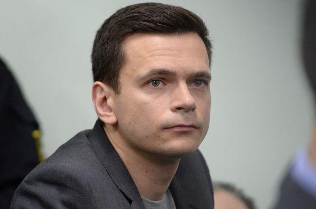 Мосгорсуд признал законным штраф Яшину за несогласованную акцию