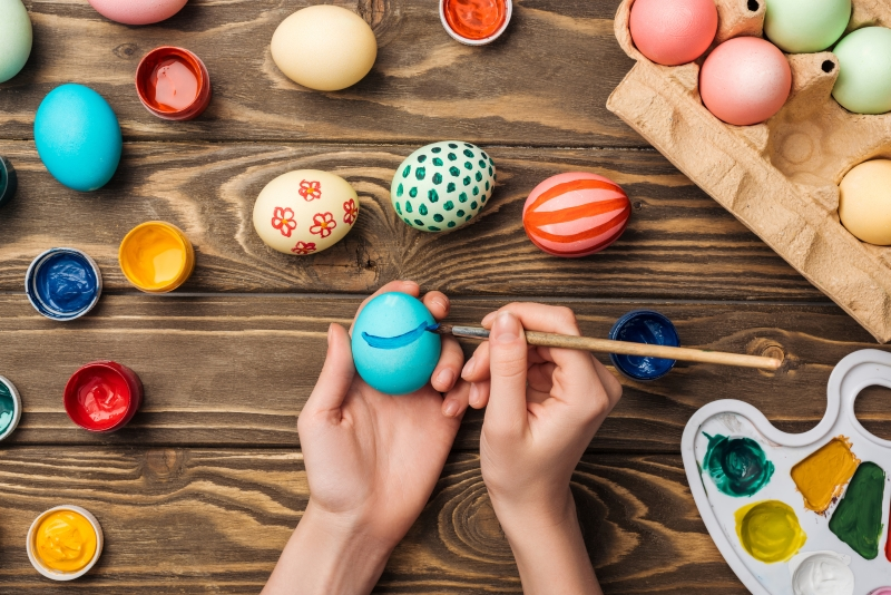зачем на Пасху красят яйца