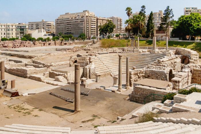 Ком Эль Дека, Египет.  Фото: hiveminer.com.