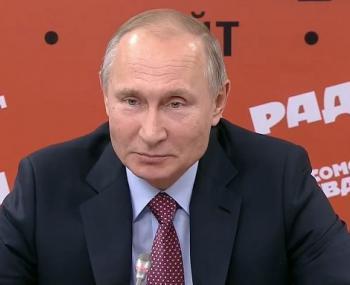 Встреча Путина с главредами российских СМИ