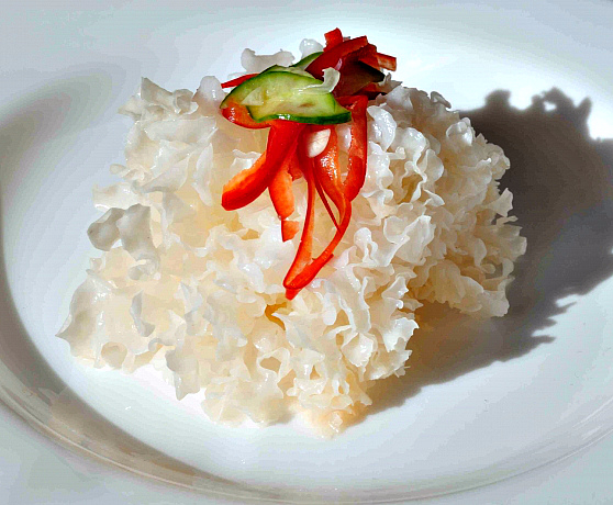 Салат из гребешков по-корейски
