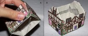 Объемная вышивка крестом по пластиковой канве