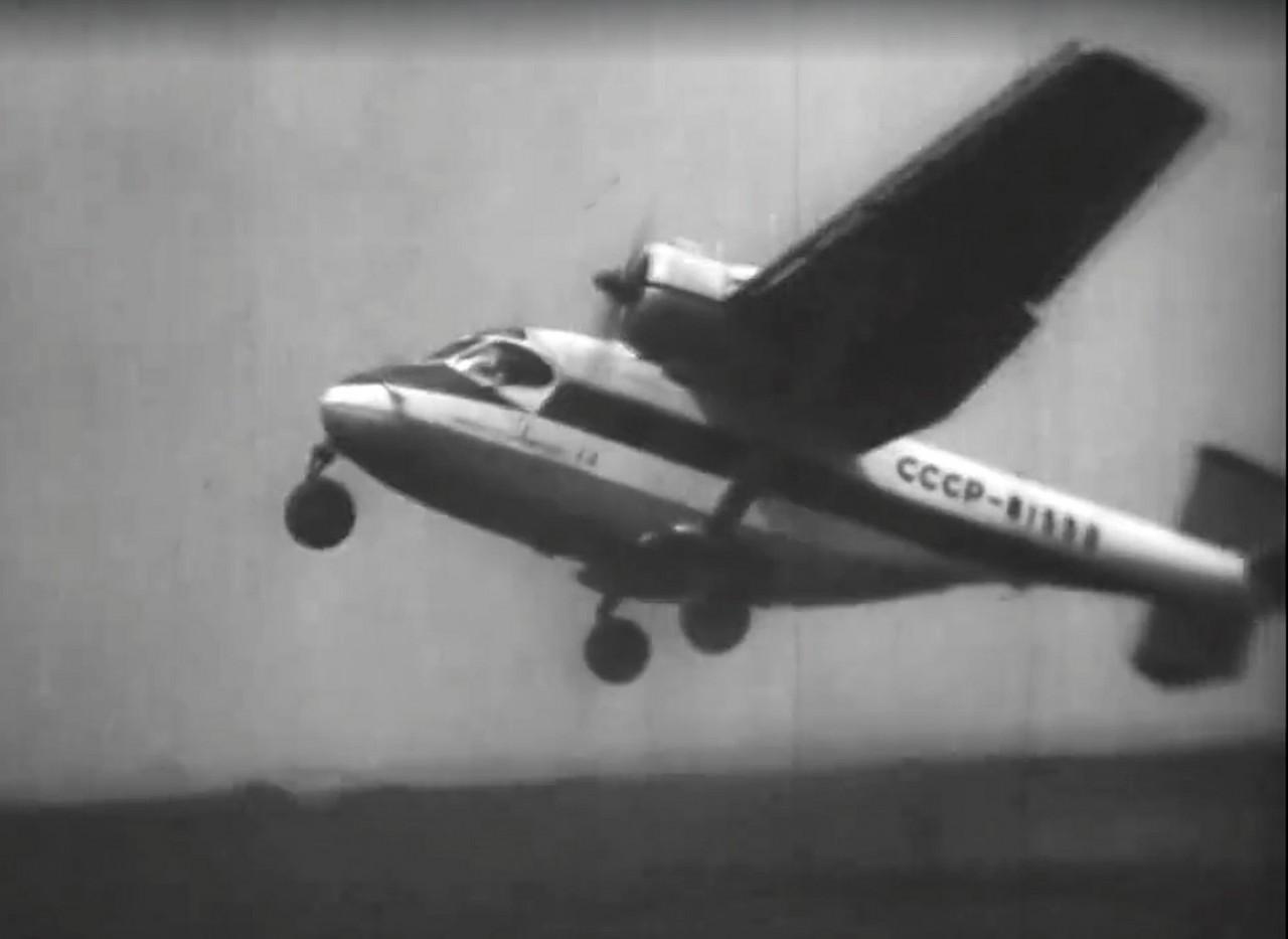 Уникальные кадры Ан-14