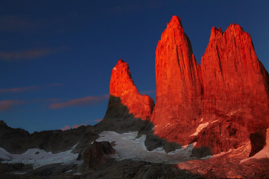 Удивительные виды Национального парка Торрес дель Пайне.