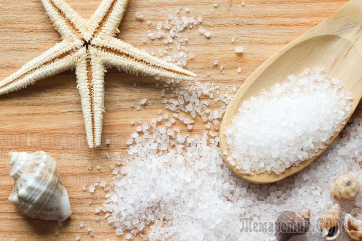 Соль морская: польза и вред, химический состав, микроэлементы