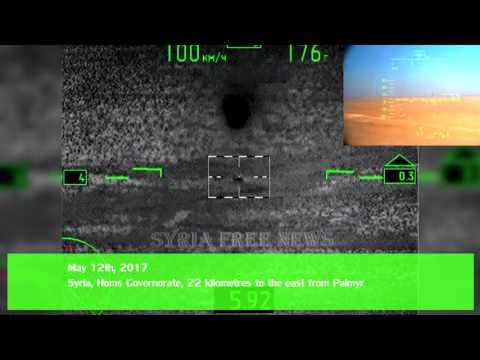 Опубликовано видео ночного удара российского Ка-52 по технике ИГ
