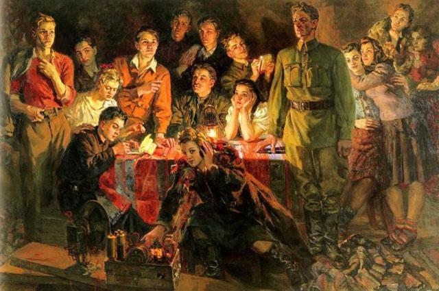 Патриотические истории. Олег Кошевой