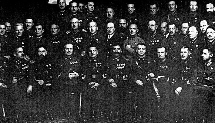 Была ли «обезглавлена» красная армия?