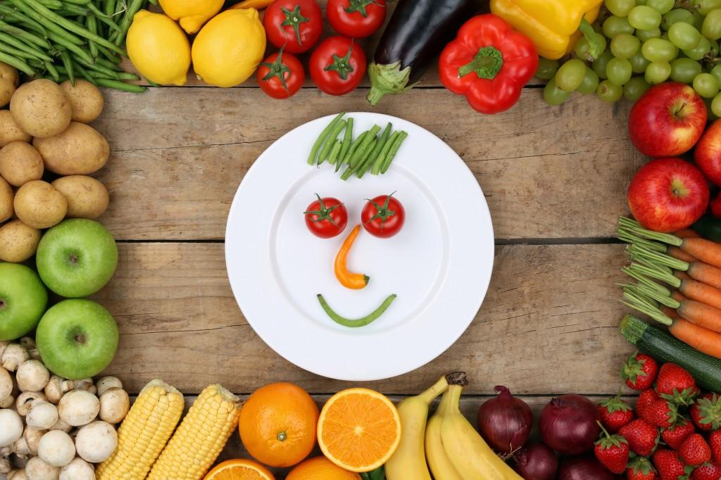 Как есть здоровую пищу и не …