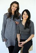 Джессика Альба (Jessica Alba) и Мишель Родригес (Michelle Rodriguez) в фотосессии для фильма Machete (2010)