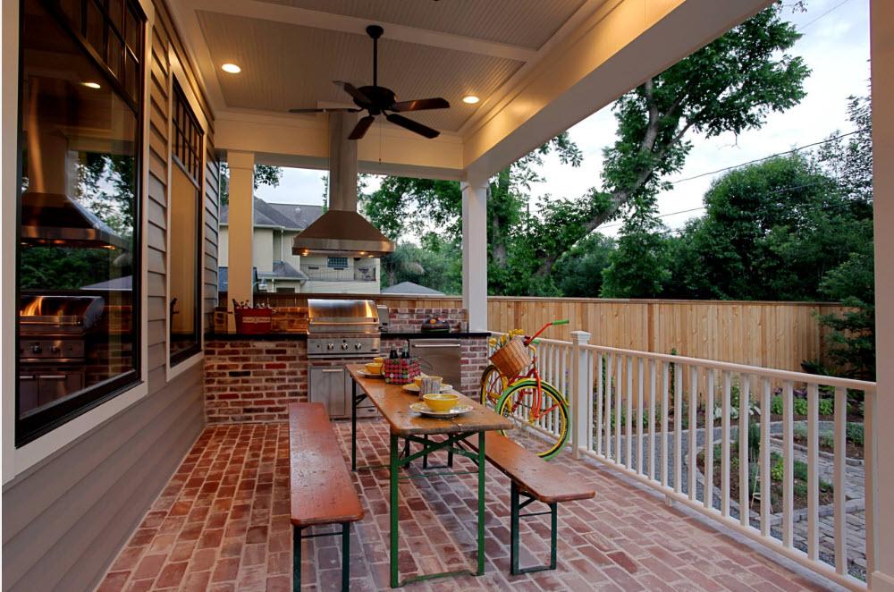 Дизайн террасы в загородном доме 45 фото идей.