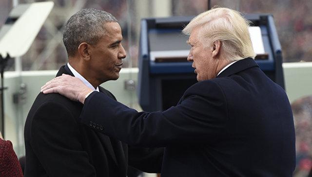 WSJ: Обама пришел в ярость из-за обвинений Трампа в прослушке