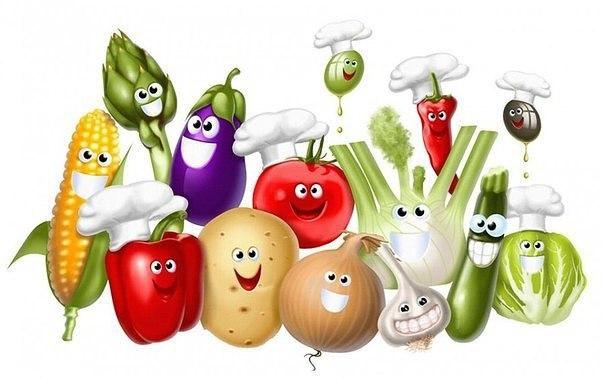Детская территория. Загадки про овощи