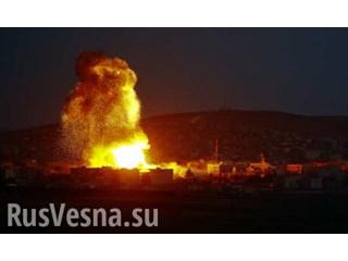 Мощным взрывом в Идлибе уничтожен штаб боевиков с Кавказа, 100 убитых и раненых