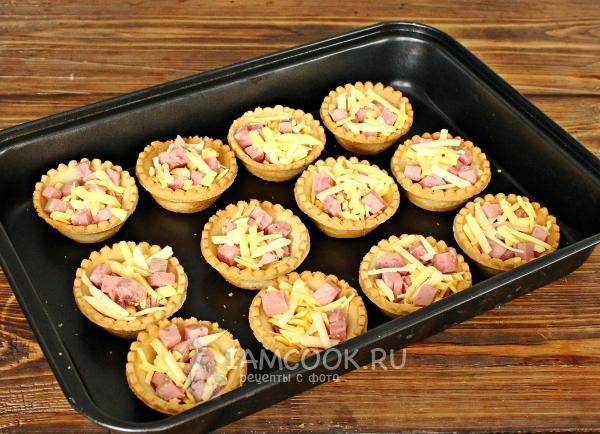 Рецепты готовых тарталеток с начинкой