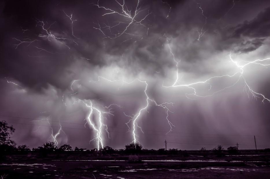 Thunderstorms14 35 belas fotos que demonstram o poder ea beleza dos elementos