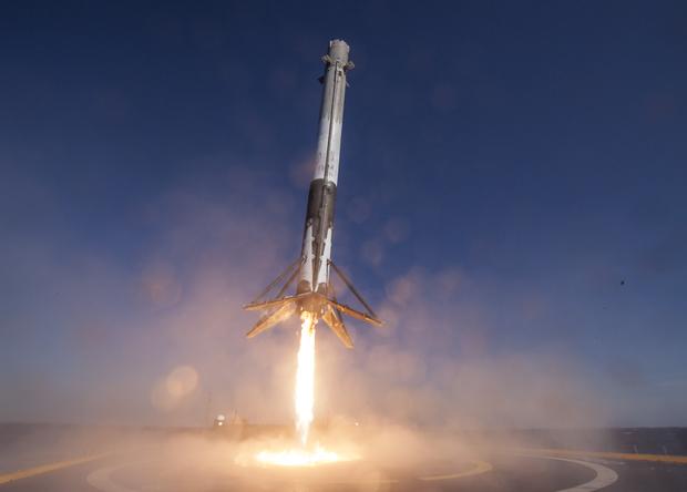 Первый повторный полет Falcon 9 назначен на 30 марта