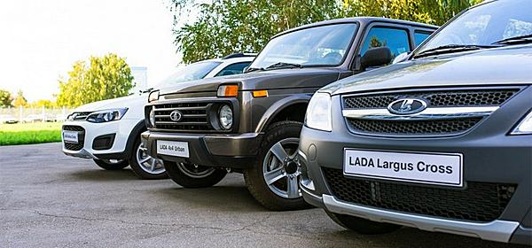 Объявлены цены на Lada Largus Cross и Lada 4x4 Urban