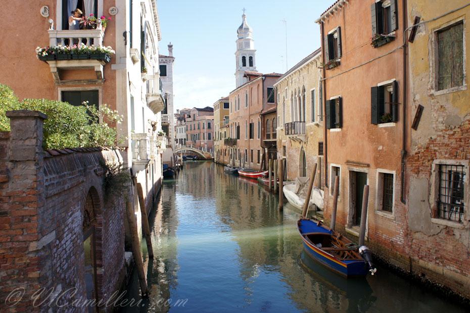 Венеция. Наклоненная колокольня