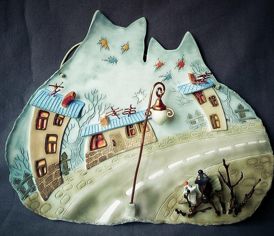 Художественная керамика Светланы Виноградской