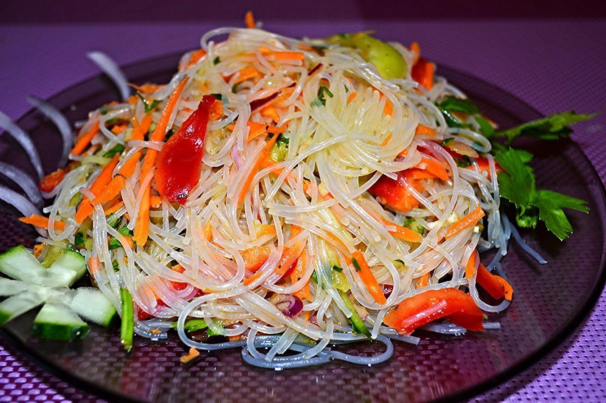 Корейские салаты - 3 рецепта