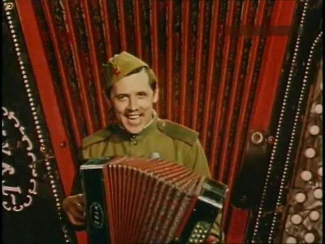 «Военные сороковые». 1975 год. Фильм-концерт. Песни военных лет.