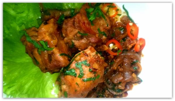 "Курица ""Гурули"", рецепт грузинской кухни"