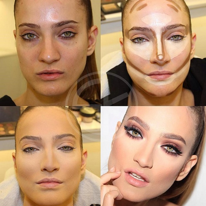 Makeup for bags under eyes 2