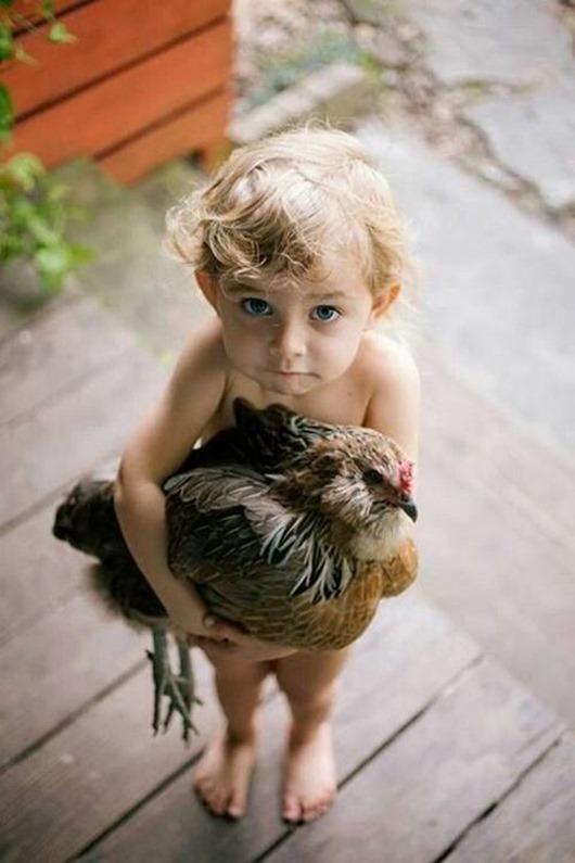 Милота в квадрате: дети и животные