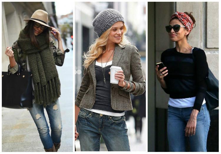 Стиль Casual для женщин, фото: аксессуары, сумки