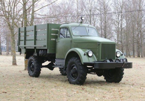 Грузовик, покоривший бездорожье. ГАЗ-63