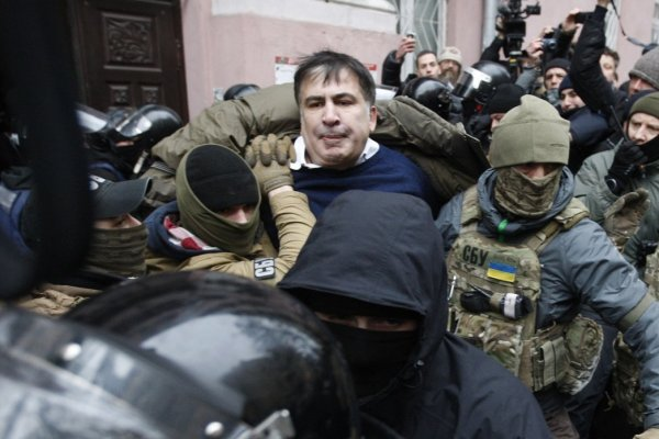 Очередная провальная попытка ареста Саакашвили