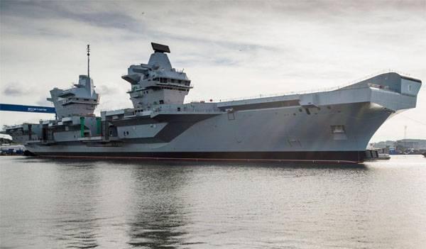 """Генерал Конашенков: """"Королева Елизавета"""" - это авиаматка и удобная морская цель"""