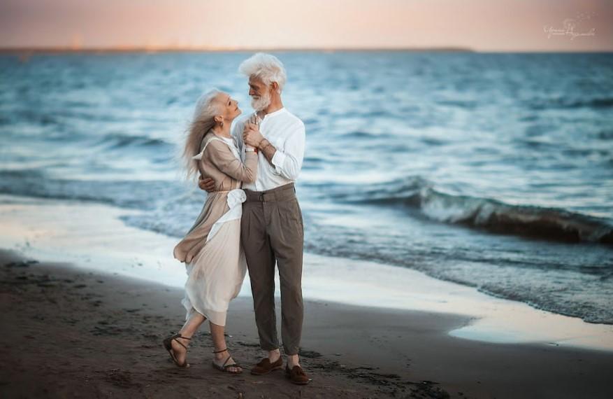 пожилая любовь