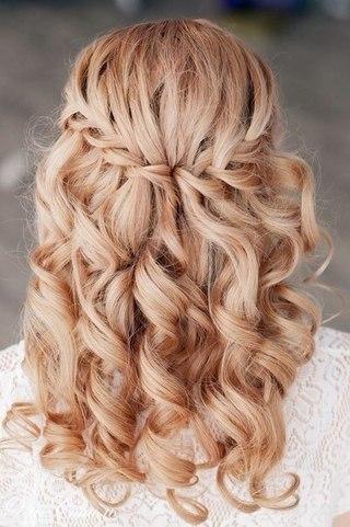 Плетения косы французский водопад